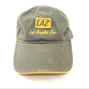 Los Angeles Zoo LAZ J Hats Cap Olive Green Yellow